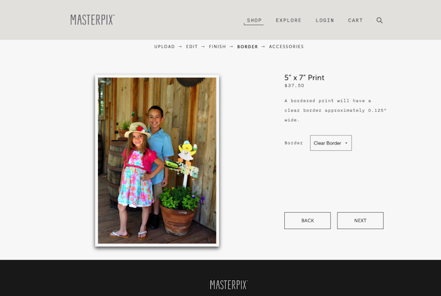 MASTERPIX Clear Border - Digital Photos