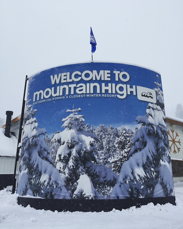 Mountain High - First Time Skiers