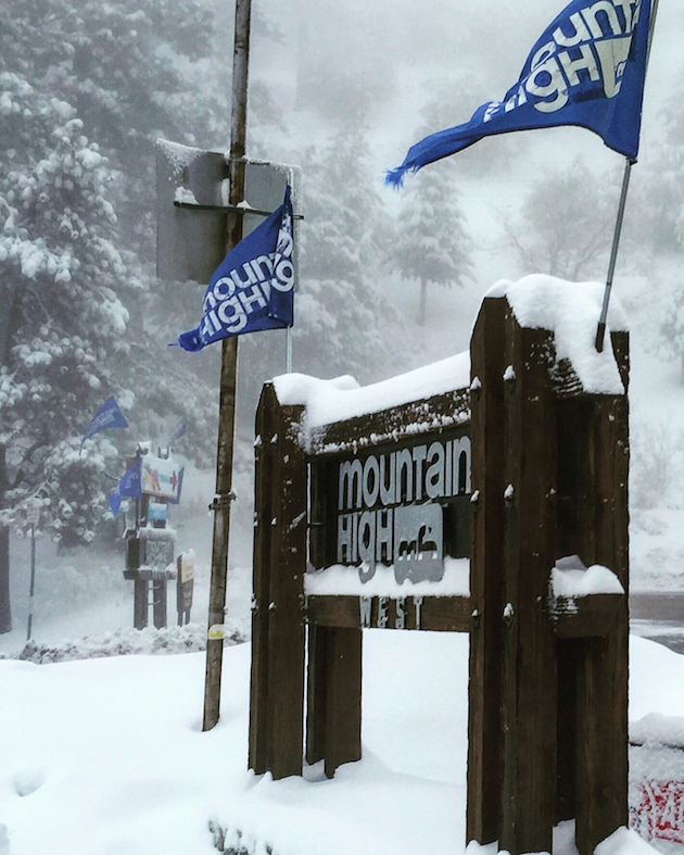 Mountain High Ski Resort - First Time Skiers