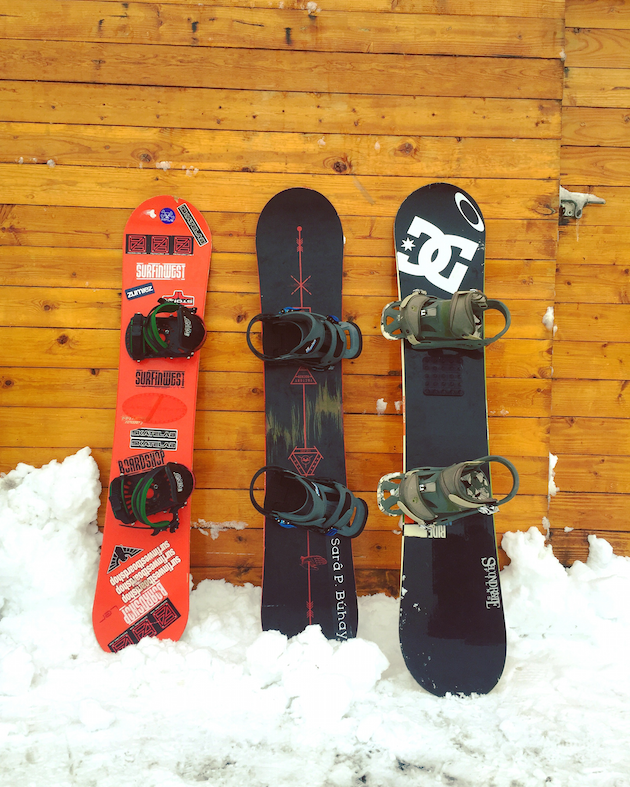 Snowboards - First Time Skiers