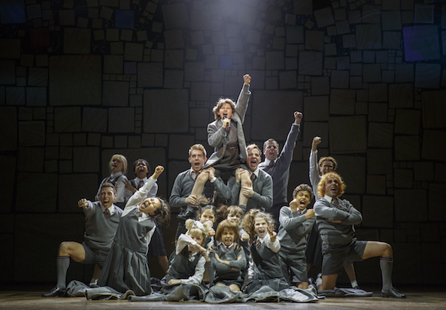 The company of MATILDA THE MUSICAL