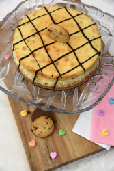 Valentine's Day Chocolate and Toffee Cheesecake Recipe