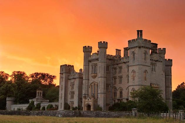 Duns Castle Sunset