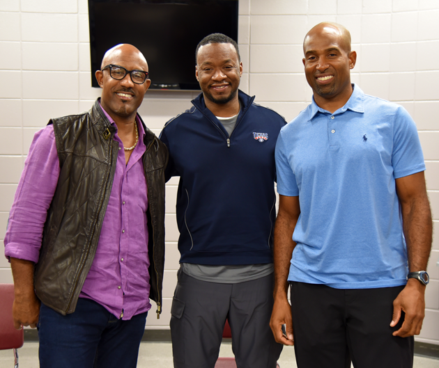 Eddie Robinson Sammy Davis Chris Calloway - Football Changes Lives