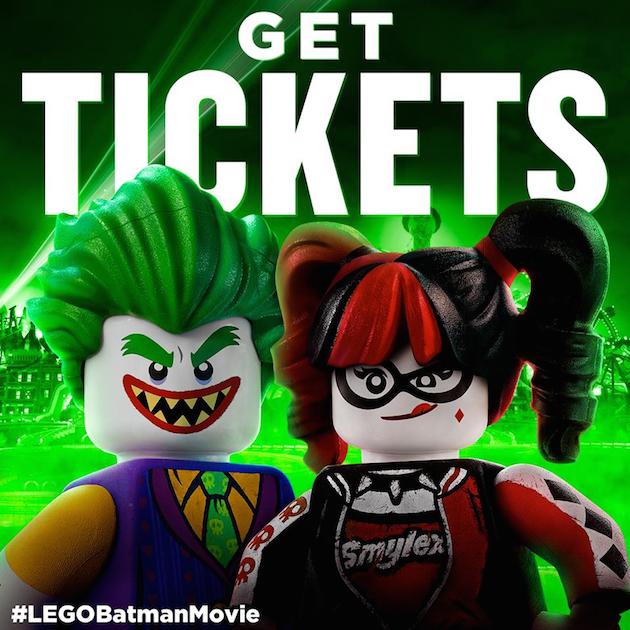 Lego Batman Tickets - Rosario Dawson