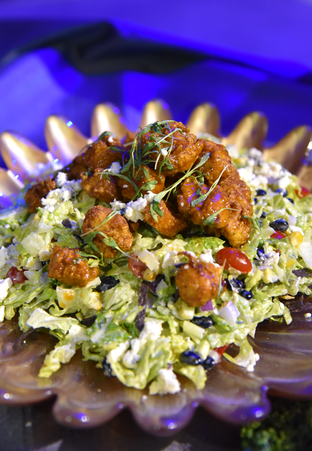 Nashville Hot Fried Chicken Salad
