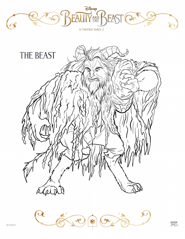 The Beast - Beauty and the Beast