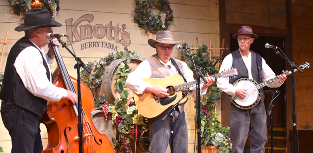 Bluegrass Band - Knott's Berry Farm Boysenberry Festival