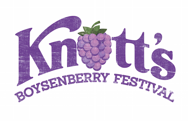 Boysenberry Festival Logo - Knott's Berry Farm Boysenberry Festival