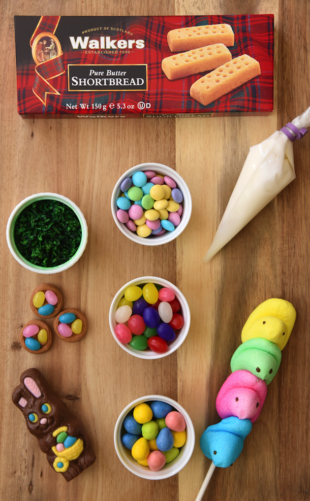 Easter Shortbread House Supplies