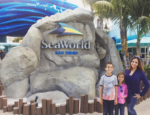 Family at SeaWorld