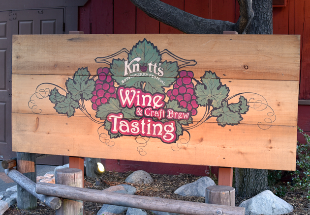 Wine and Craft Brew Tasting - Knott's Berry Farm Boysenberry Festival