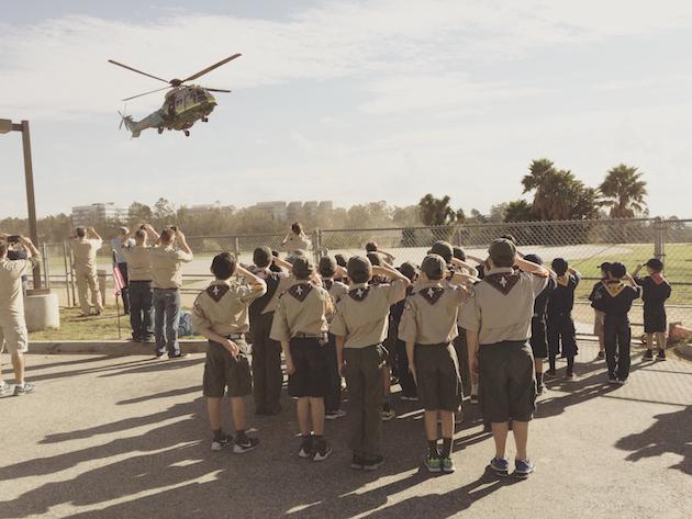 Cub Scouts Salute