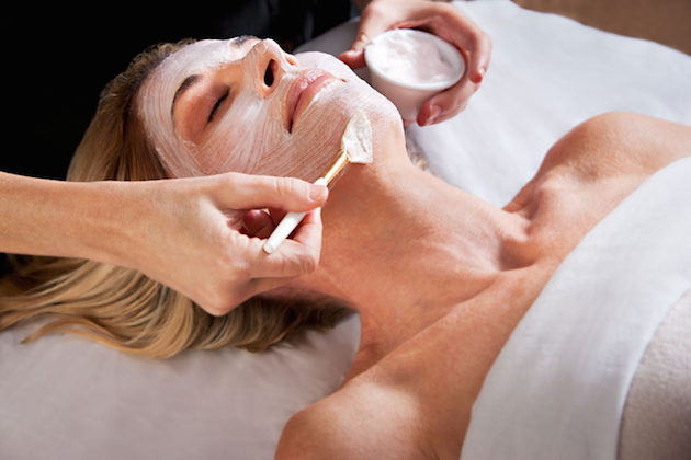 Facial at Burke Williams