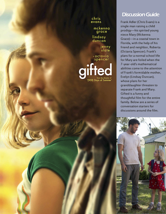 Gifted Discussion Guide