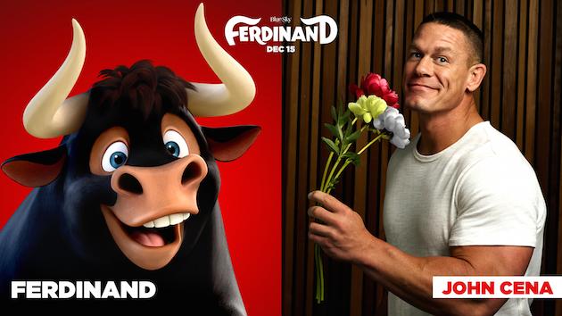 John Cena in Ferdinand