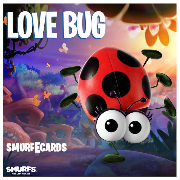 Love Bug Ecard - Smurfs: The Lost Village