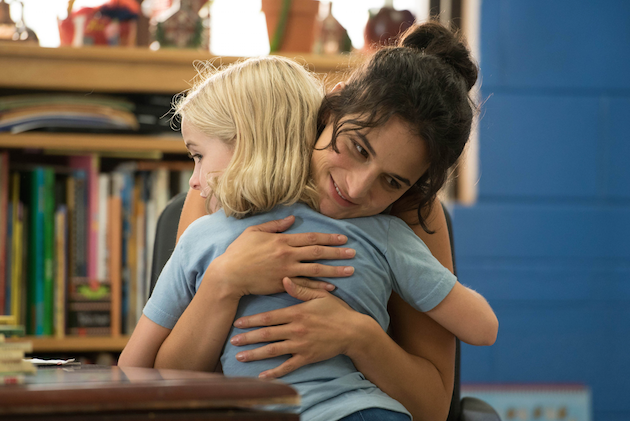 Mckenna Grace and Jenny Slate