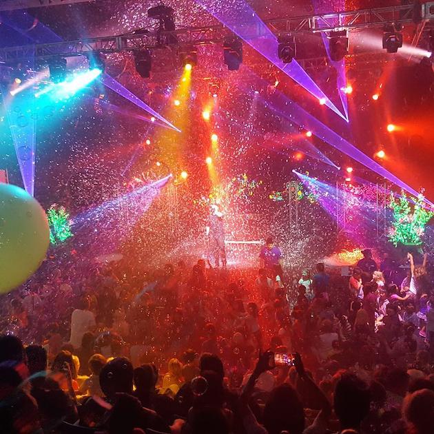 Mega Bubblefest 2017 Laser Show