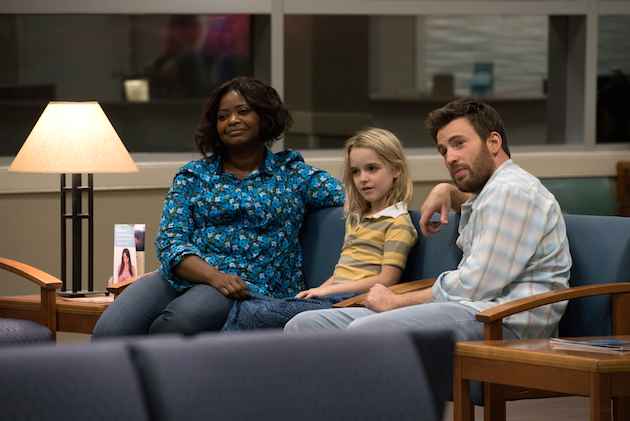 Octavia Spencer Mckenna Grace Chris Evans