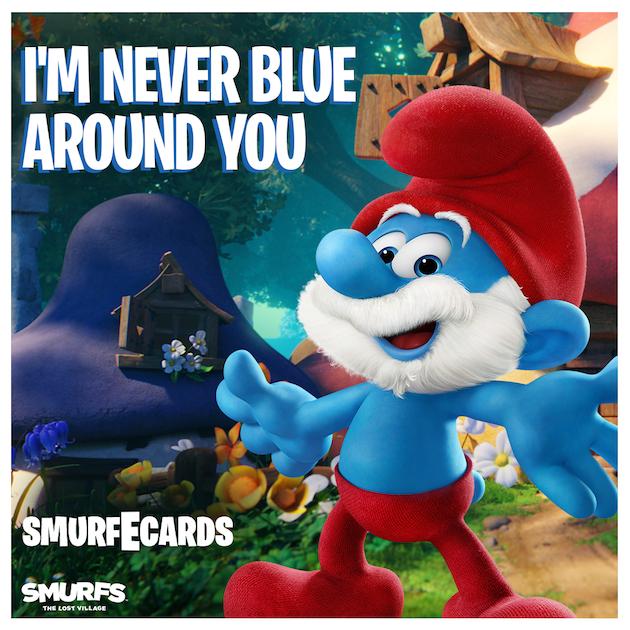 Papa Smurf Ecard - Smurfs: The Lost Village
