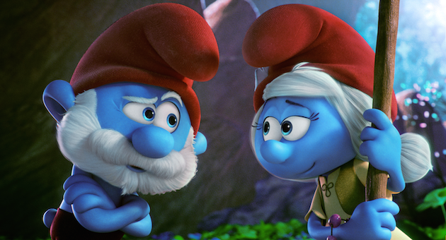 Papa Smurf and Smurfette - Smurfs: The Lost Village