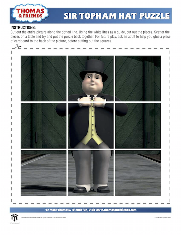 Sir Topham Hat Puzzle - Thomas the Tank Engine