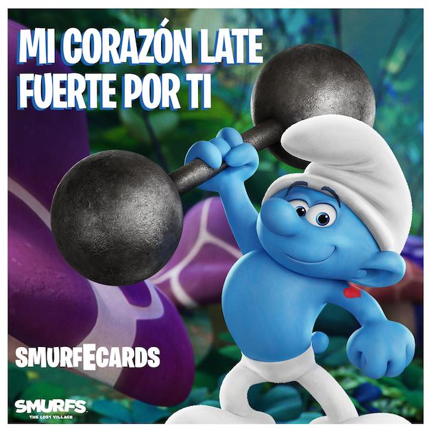 Smurfs Spanish ECard - Smurfs: The Lost Village