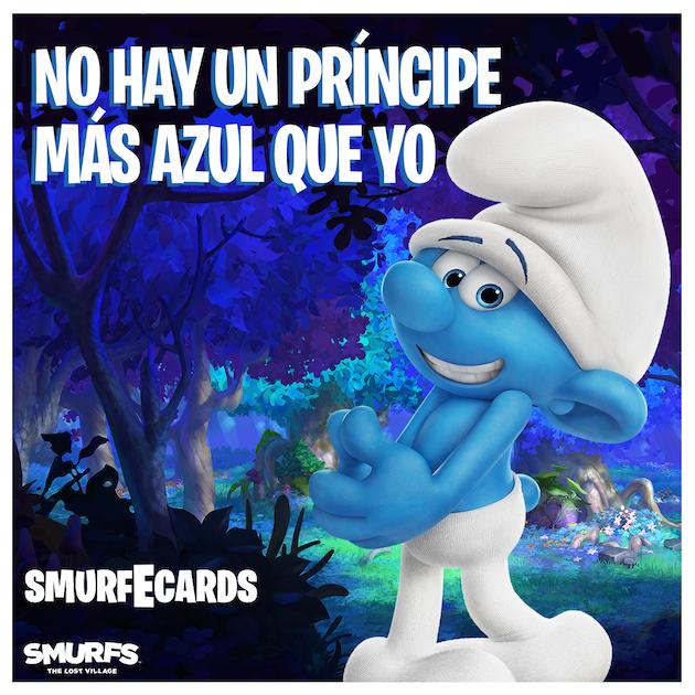 Smurfs: The Lost Village Spanish ECard