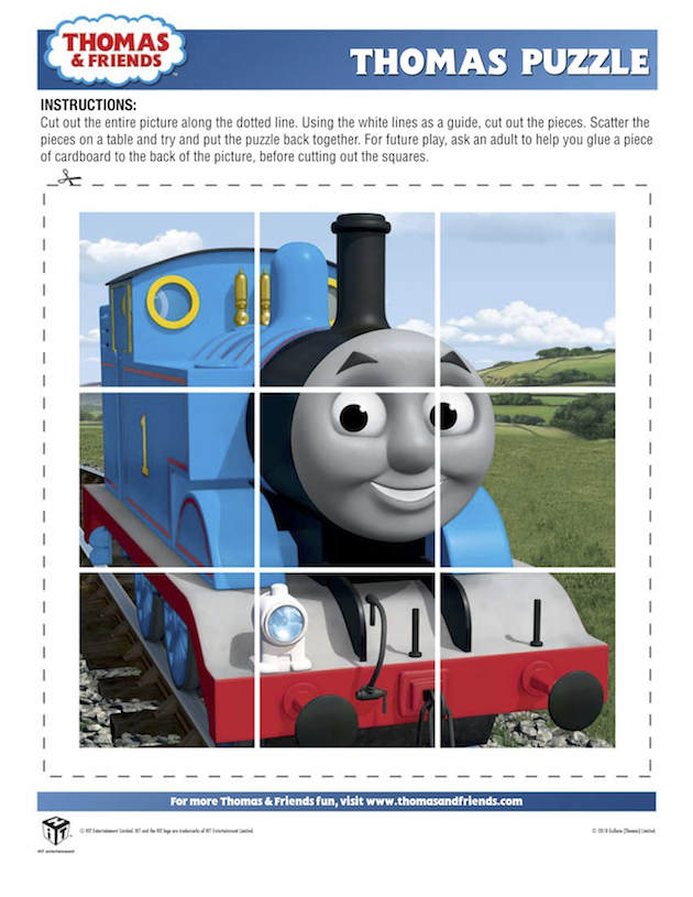 Thomas Puzzle - Thomas the Tank Engine