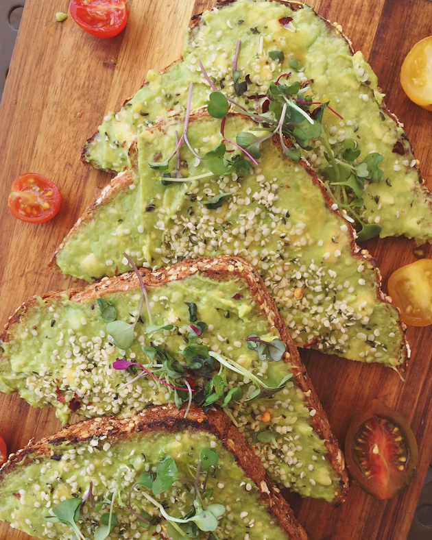 Avocado Toast - Mother's Day Brunch