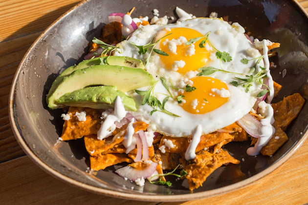 Chilaquiles - Mother's Day Brunch