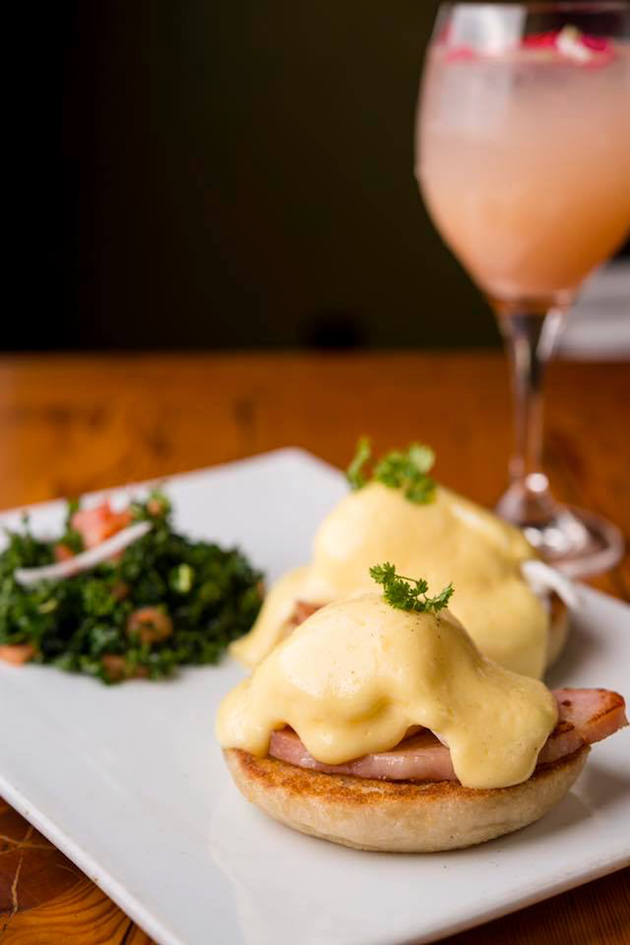 Eggs Benedict - Mother's Day Brunch