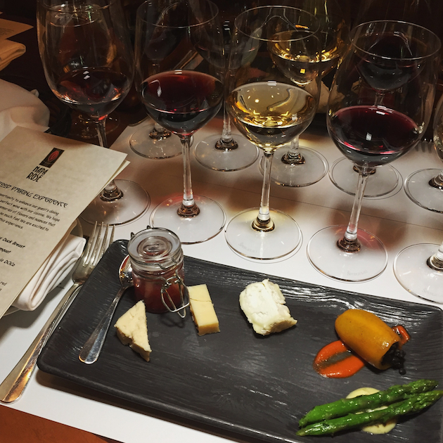 Food and Wine Pairing Experience