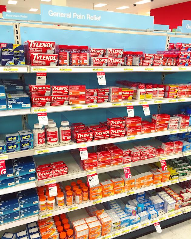 Tylenol at Target