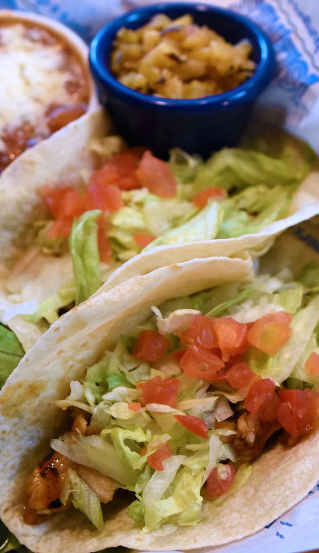 Yaki Fish Tacos
