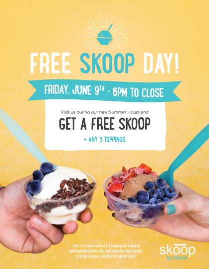 Free Skoop Day