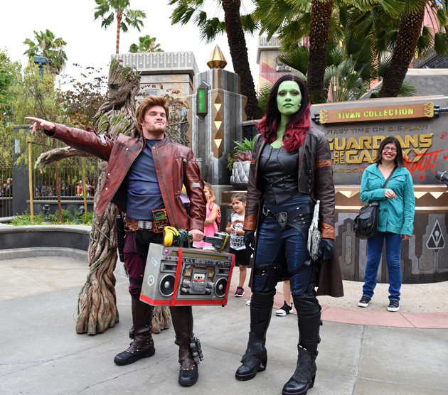 Guardians of the Galaxy Awesome Dance Off
