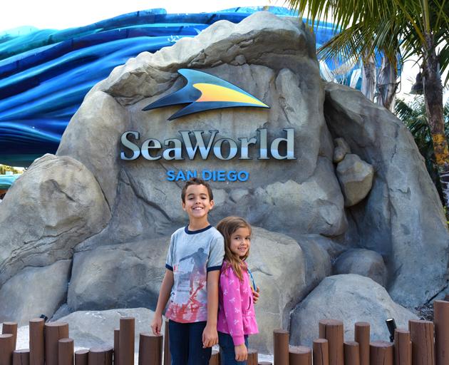 Kids at SeaWorld
