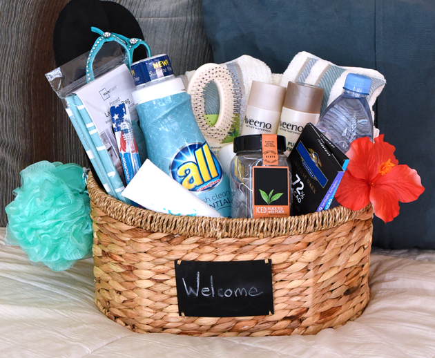 Welcome Gift Basket