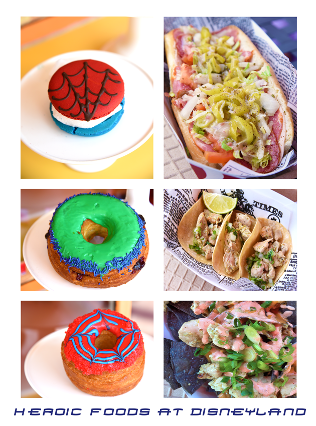 Heroic Foods at Disneyland