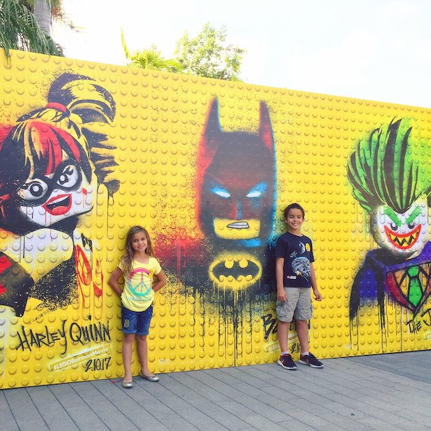 LEGO Batman Wall