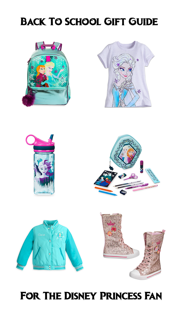 Back-To-School Gift Guide For The Disney Princess Fan