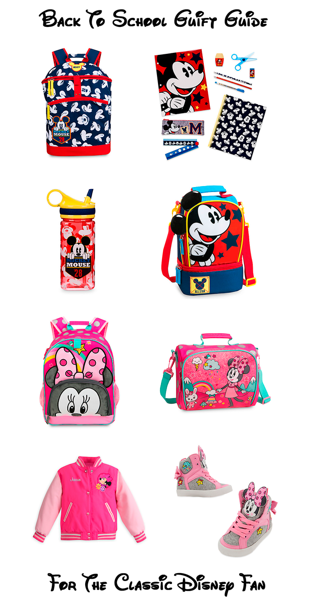 Back-to-School Gift Guide For The Classic Disney Fan