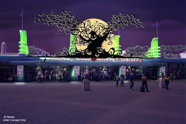 DCA Entrance Halloween