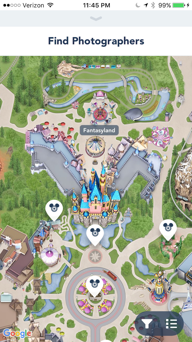 Find Disney Photographers