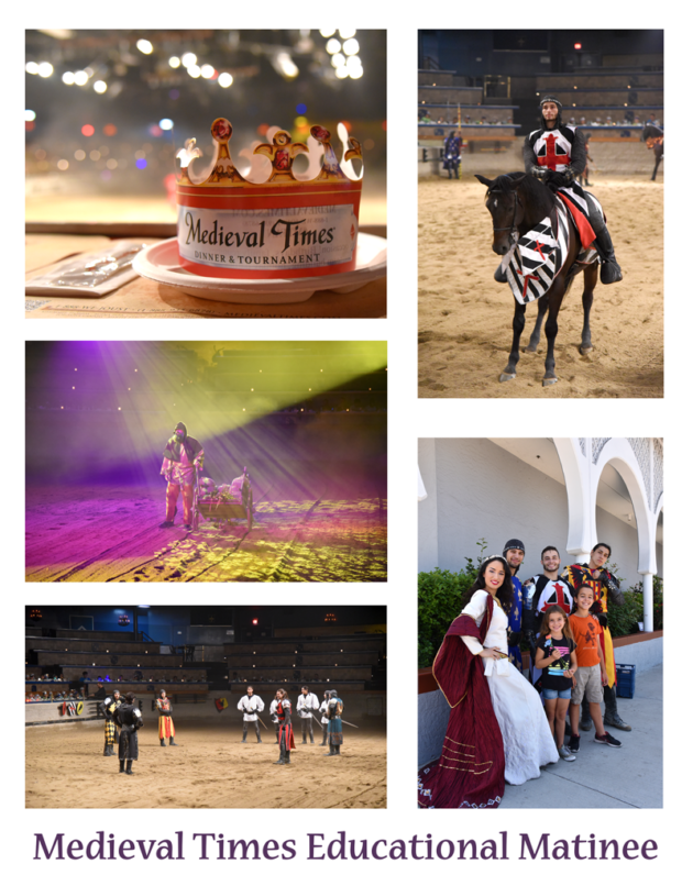 Medieval Times Educational Matinee