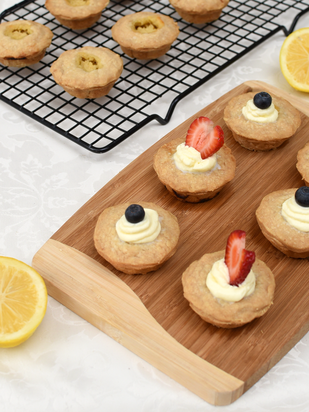 Mini Meyer Lemon Mascarpone Pies