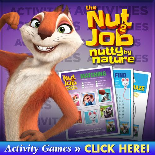 The Nut Job 2 Activities