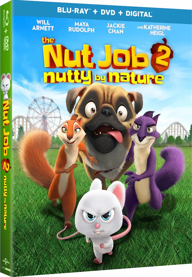The Nut Job 2 DVD